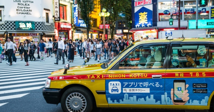 Sony 進軍叫車領域,聯合日本當地六家計程車業者,打造 AI 叫車服務!