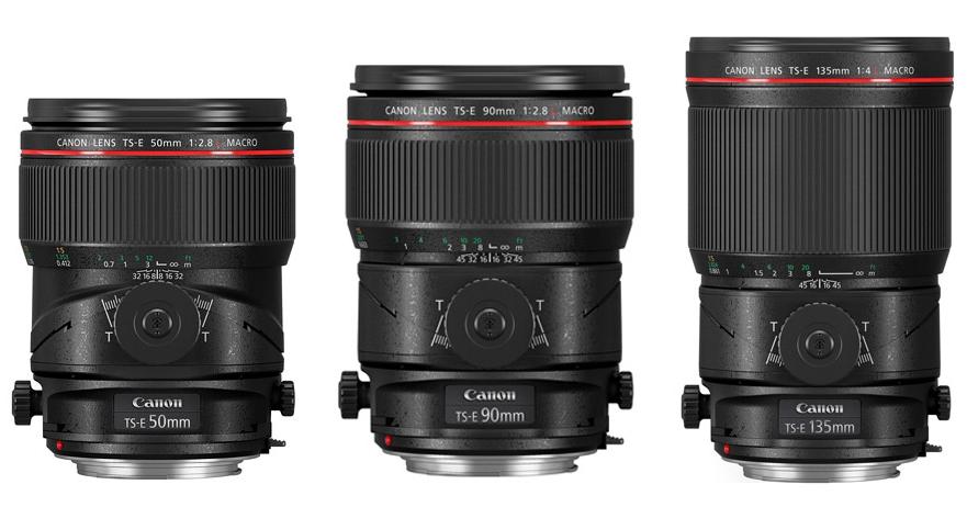 為商業攝影而生,Canon 推出三款微距移軸鏡 50mm F2.8L/90mm F2.8L/135mm F4L