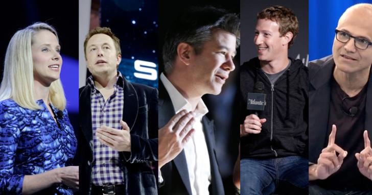 NASA 人格測驗,分析企業家的六種不同人格,庫克是「顧問」、馬克.祖克柏是「自我主宰」!