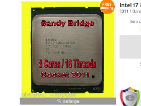 好CPU,不買嗎? Sandy Bridge-E ES處理器現身eBay