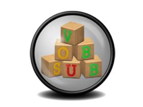 影片字幕出來的時間有誤,用 Vobsub 軟體快速修正