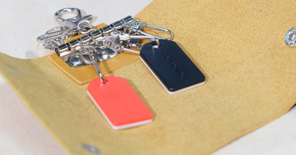 防止東西遺失,日本廠商在 MWC 展出超小巧藍牙智慧標籤 mamorio