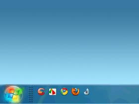 把Windows 7改回XP的工作列樣式