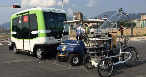 台北市建造自駕車測試基地,北投士林科技園區為自駕車上路實測做準備