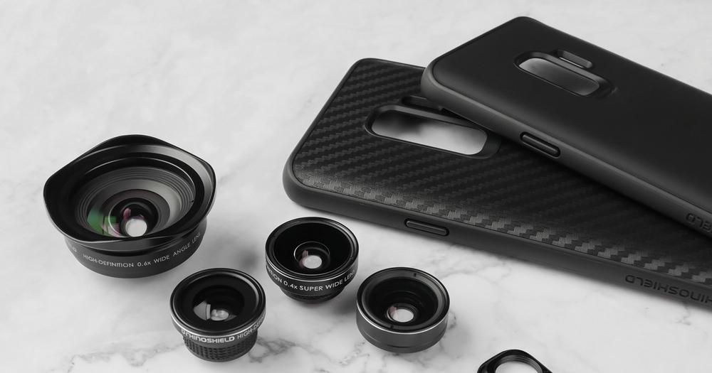 犀牛盾推出三星 Galaxy S9 / S9+ 專用配件,四種擴充鏡頭讓手機拍照更厲害