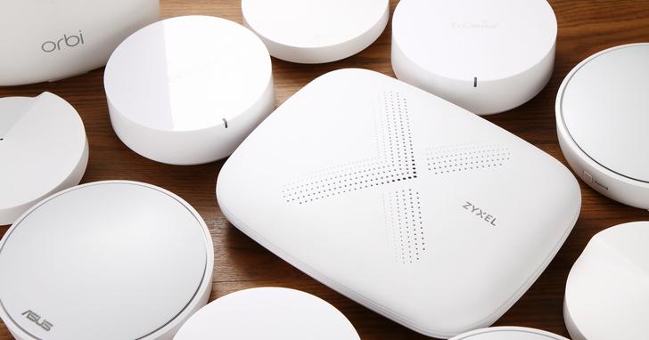 新一代Mesh Wi-Fi路由器好用在哪裡? 一次將 5款市售Mesh Wi-Fi路由器功能看完