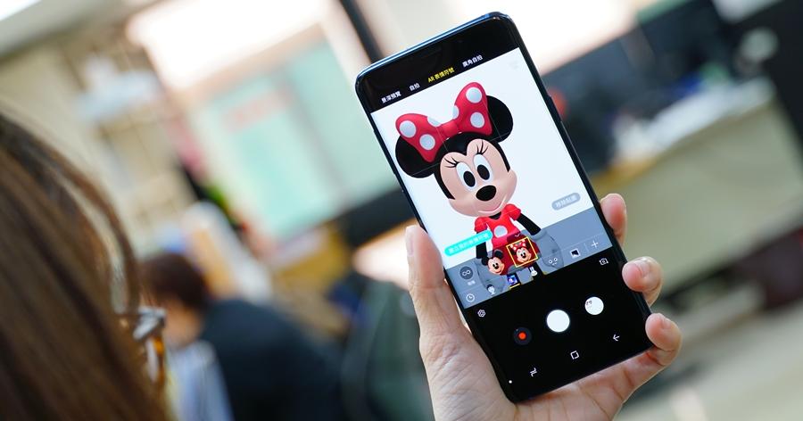 三星 Galaxy S9 / S9+ 虛擬人偶功能加入新成員,米奇、米妮來囉!
