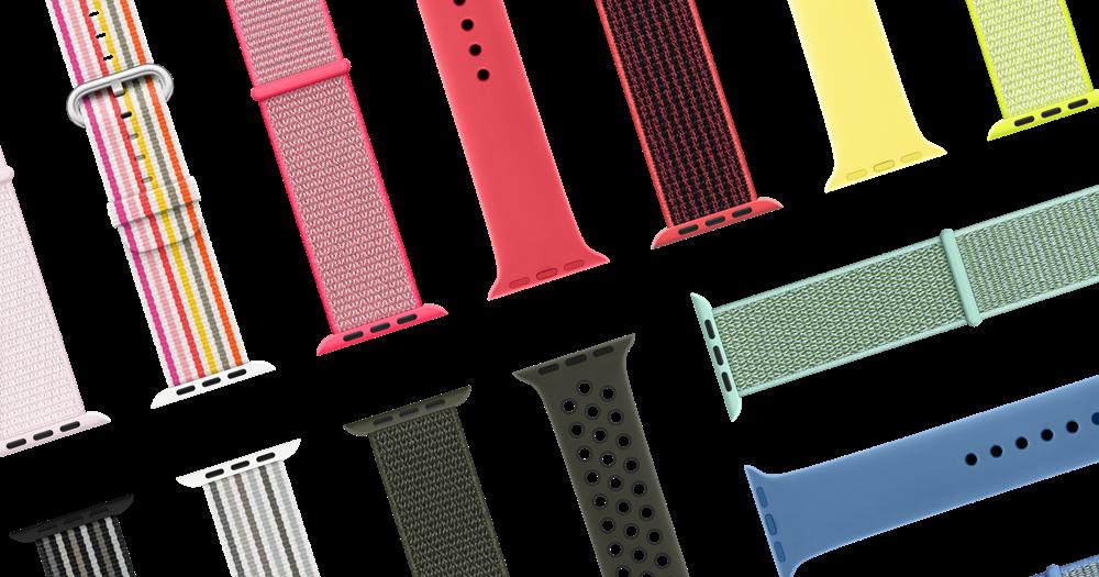 春天新錶帶,Apple 發表一系列粉嫩 Apple Watch 錶帶、Hermès 款也來了