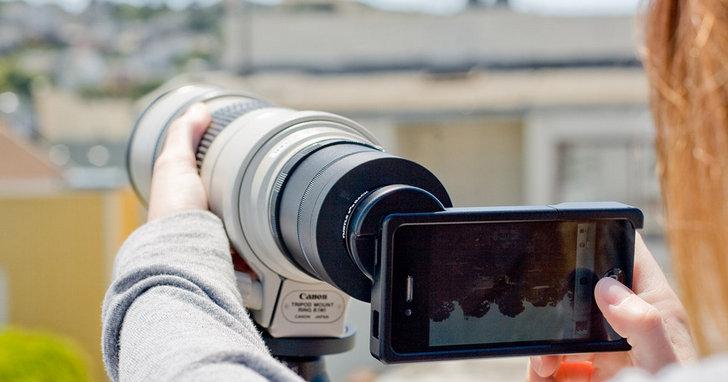 佳能發佈了一個手機用的「100-400」,還帶來了一款 360° 相機