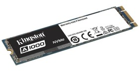 Kingston推出入門級NVMe PCIe固態硬碟,售價趨近SATA級別固態硬碟