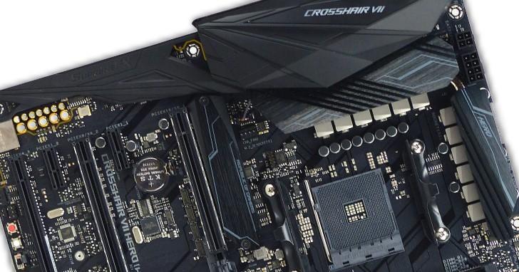 細節持續進化,Asus ROG Crosshair VII Hero (Wi-Fi) 主機板搭載 AMD X470 晶片組實測