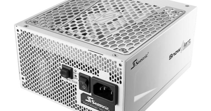 SeaSonic PRIME 系列電源供應器換新裝,雪白 SnowSilent 同步推出不同效率等級與瓦數