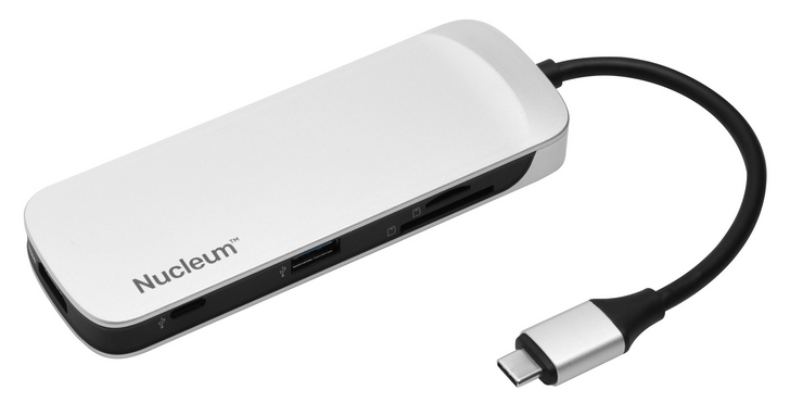 Kingston推出超薄筆電專用USB Type-C集線器Nucleum