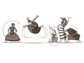 今日 Google 塗鴉:CSS Sprites 的原理