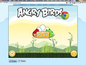 用瀏覽器直接玩正版 Angry Birds