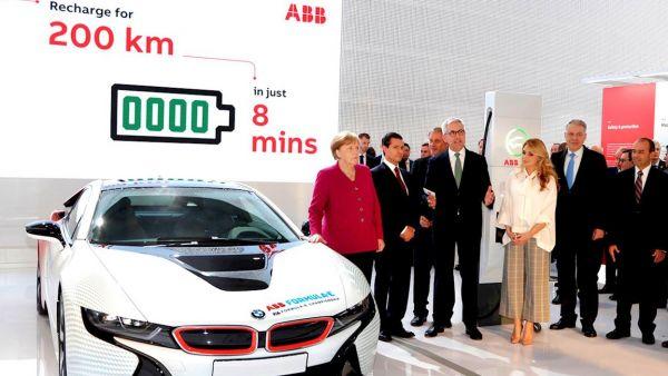 充電8分鐘就可跑200km!ABB 推出 Terra High Power 直流高速充電系統