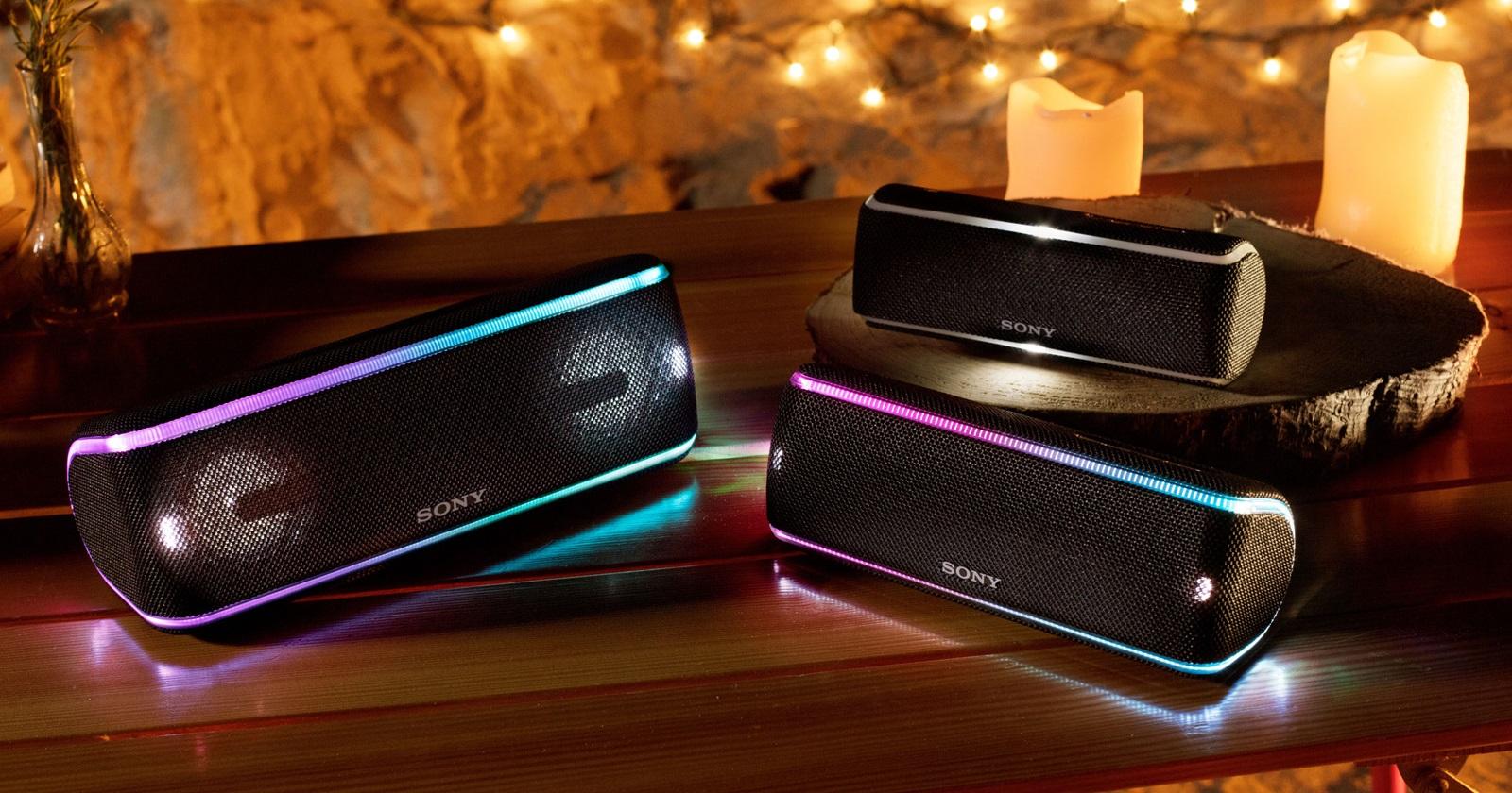 Sony 無線藍牙喇叭新登場,主打重低音音效、還能串聯多台一起聽音樂