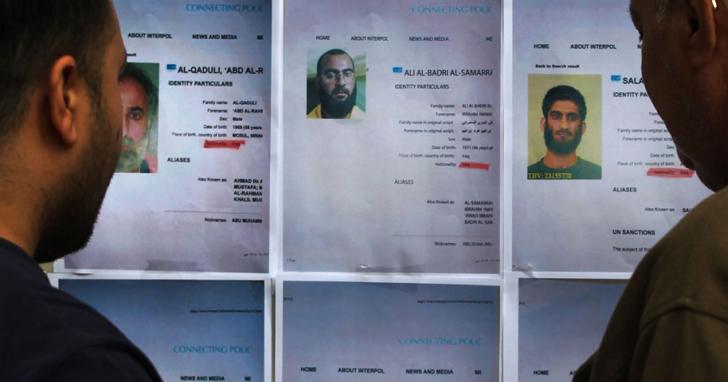 伊拉克情報局用一則Telegram會議通知,Call 來 5 名伊斯蘭國頭目一次逮捕