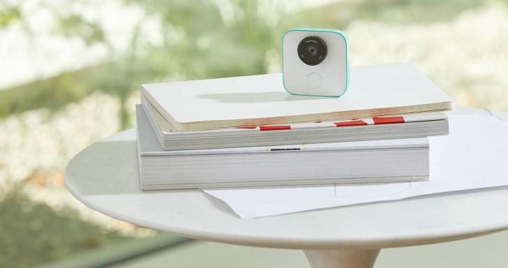 Google Clips攝影機 + AI = 自動判斷有趣的錄影時機