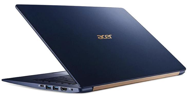 Acer 筆電再創「輕」!15.6 吋 Acer Swift 5 重量不到 1 公斤