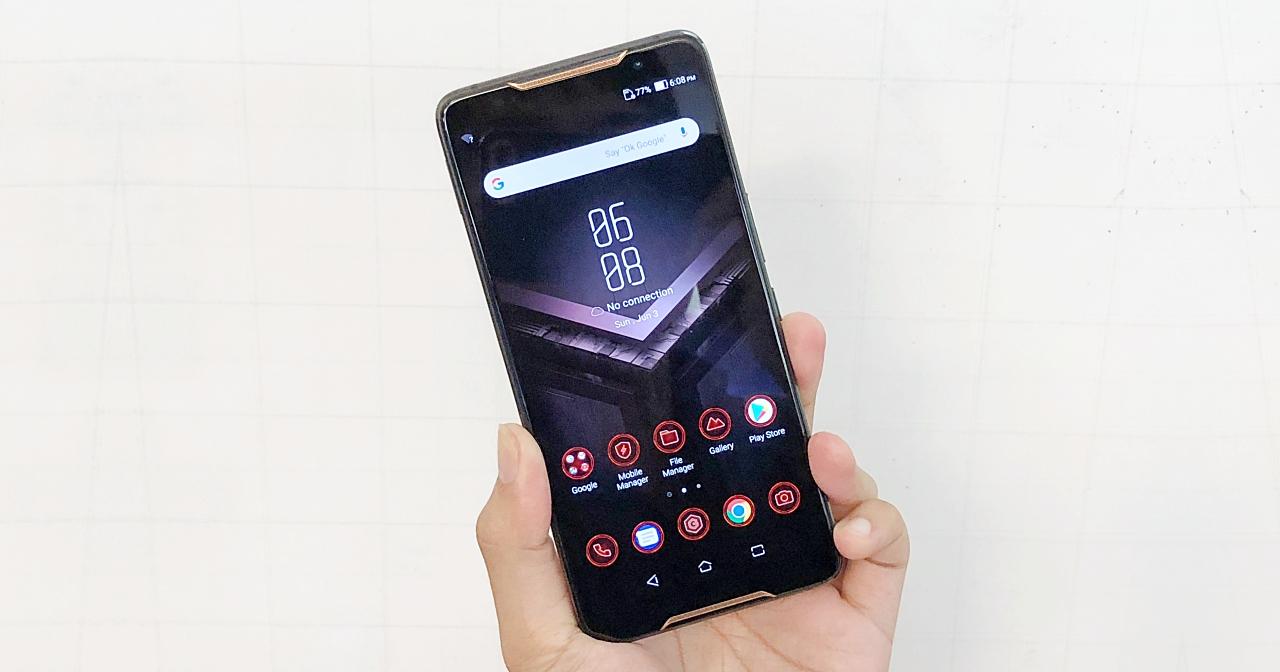 搭載2.96Ghz高通S845與8GB RAM超狂效能,華碩首款電競手機ROG Phone登場 | T客邦
