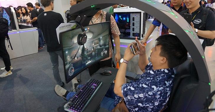 筆電內建Android模擬器、電腦椅也有RGB...這些是Computex會場我們遇見的特殊電競周邊產品 | T客邦