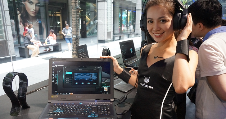 Acer 電競系列新品在台提供民眾體驗,這次還多了 AMD 版本來助陣
