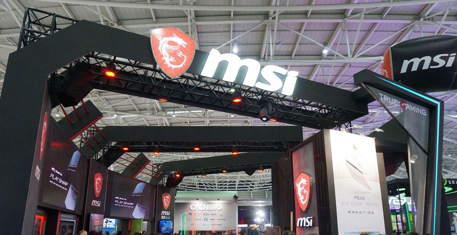 Computex 2018:輕薄筆電、效能桌機、曲面螢幕,MSI 微星打造華麗的電競裝備秀! | T客邦