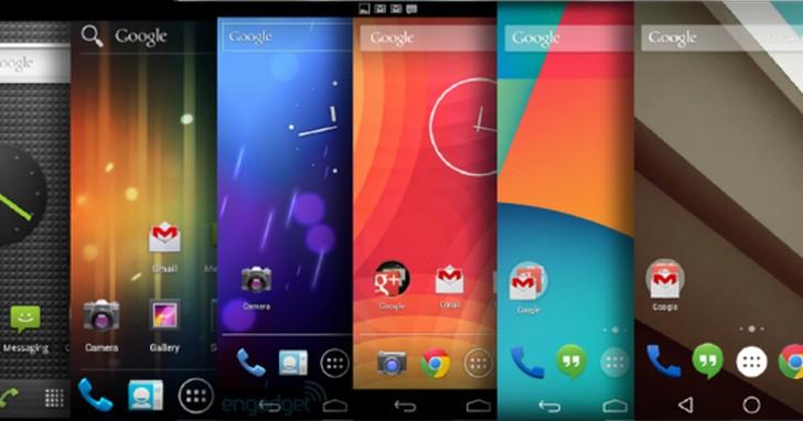 Android 介面設計師帶你回顧 Android 十年來的界面演化,每一次改變都解決了哪些問題?