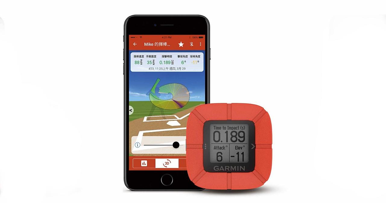 這款裝置幫你練棒球!Garmin 推出 Impact 揮棒訓練分析儀