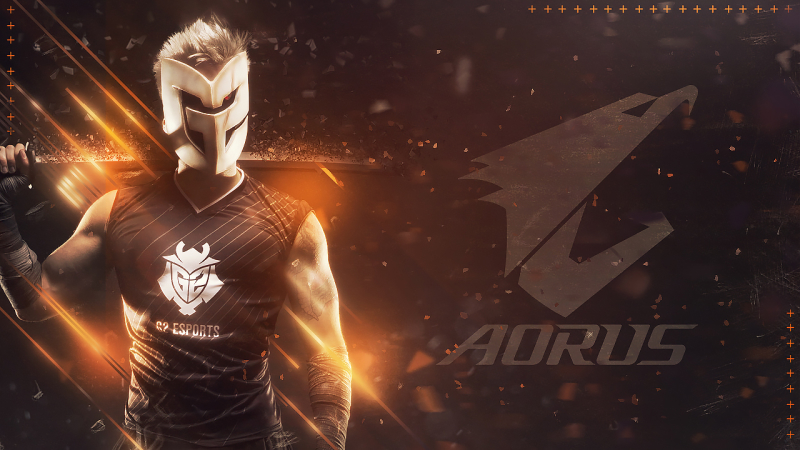 技嘉AORUS宣布與G2 Esports 成為策略夥伴  AORUS和G2 Esports強強聯手 打造新世代電競霸主