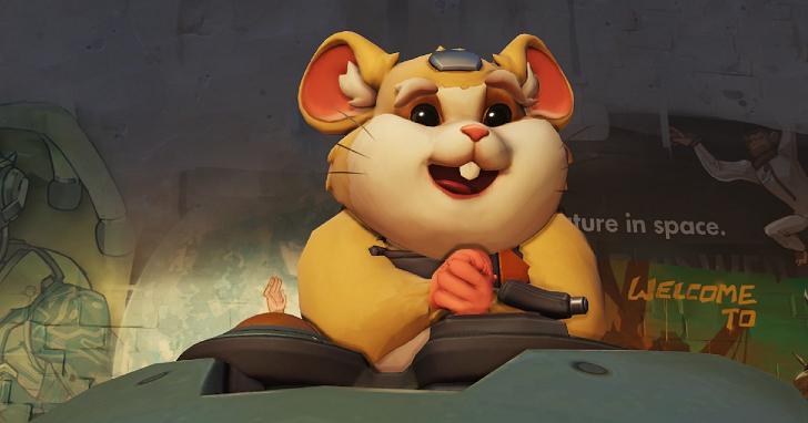 《鬥陣特攻》新角色「哈蒙德」現身,居然是一隻開著鐵球的倉鼠!?