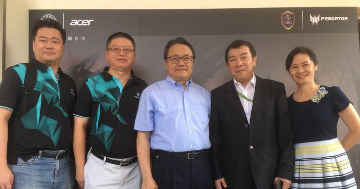 宏碁攜手嶺東科大建電競教育中心,培育電競產業專業人才