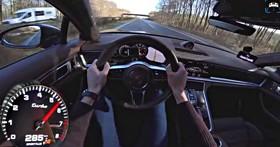 【影片】通電更會跑?Porsche Panamera Turbo v.s Turbo S E-Hybrid 無限公路加速對決