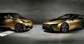 閒人勿近三寶退讓,BMW 推出 i3/i8 Starlight Edition 24K「純金塗裝」限量車!