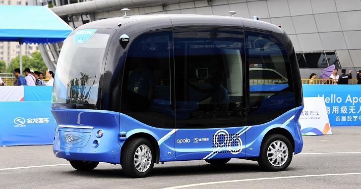 百度宣布量產無人自動巴士「阿波龍」,不僅將在中國投入使用,還要銷往日本市場