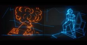 這個全是光線組成的3分鐘科幻短片,花了影視特效高手一年半的時間來完成