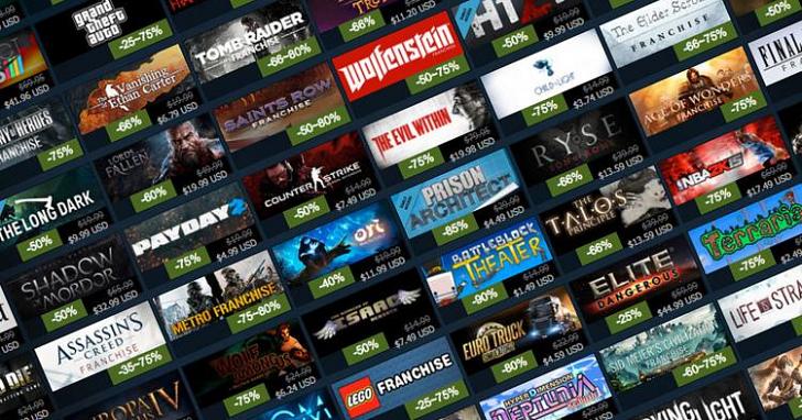 Steam 上賣最好的 1000 個遊戲是什麼?官方不小心洩漏了答案