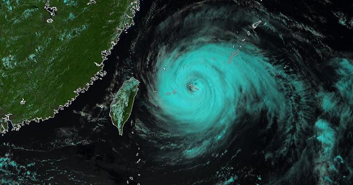 為什麼瑪莉亞颱風走偏一點點,北台灣風雨就會差很多?