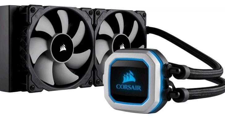 Corsair Hydro PRO 系列一體式水冷往下延伸,H100i PRO RGB 降至 240mm 水冷排相容更多機殼