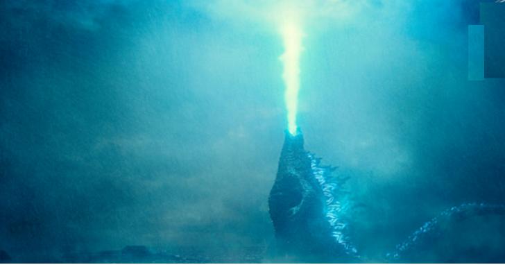 一來就放大絕,《哥吉拉:怪獸之王》首張「原子吐息」海報解禁