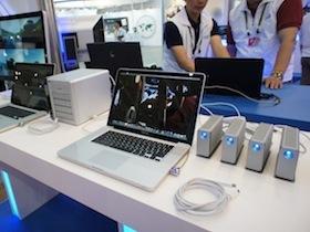 Computex 2011:Intel 用 Apple Mac 展示超高速 Thunderbolt