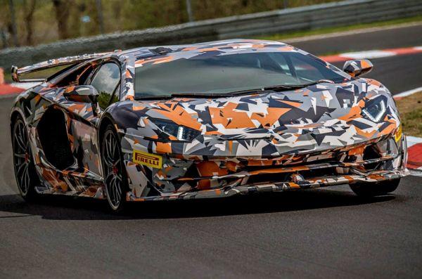 紐北「最速量產車」換人坐,Lamborghini Aventador SVJ「6:44.97」刷掉 Porsche 911 GT2 RS !