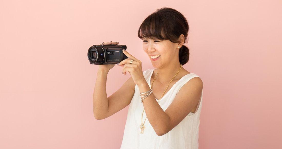 粉紅人妻 CPU 的沖繩之旅:Sony Handycam FDR-AXP55 一機搞定投影、錄影!