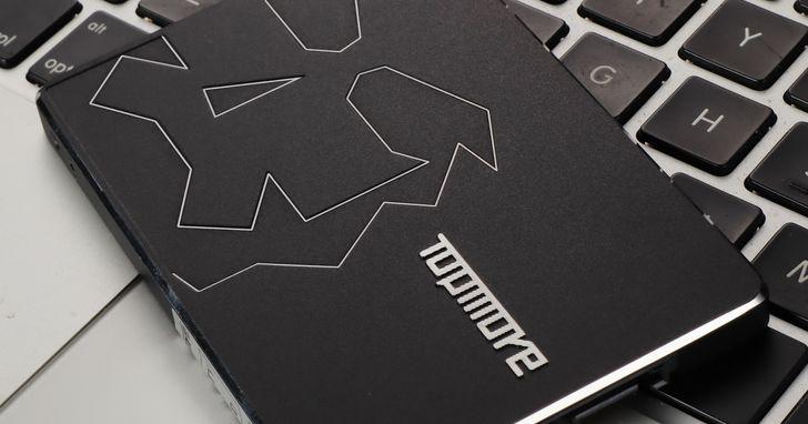Topmore TX300 SSD- 採用MLC顆粒,壽命有保障