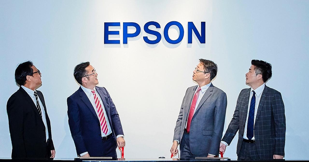 Epson 進駐臺北南山廣場 強化商務品牌形象聚焦商用市場