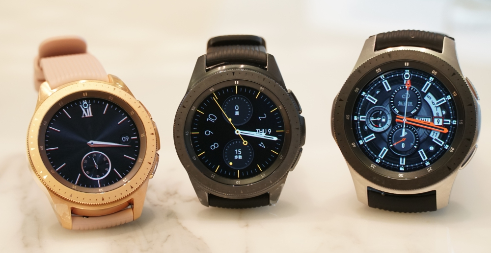 Samsung Galaxy Watch 發表,最長 7 天續航力、新增玫瑰金色