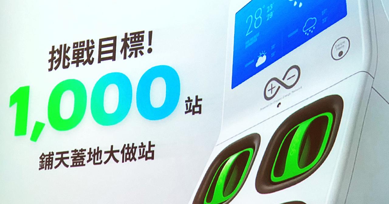 換電站密度超越加油站?Gogoro 已經在台北市做到了