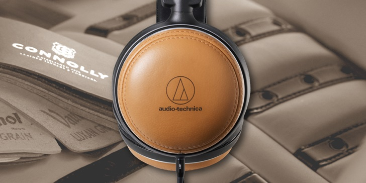 睽違 15 年,經典再現!audio-technica ATH-L5000 楓木皮革耳機限量登台