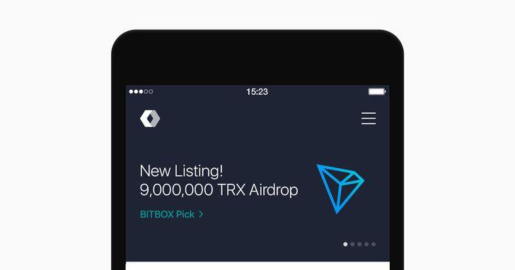 LINE拓展加密貨幣業務,波場幣TRON上線BITBOX
